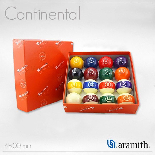 SET BILIE ARAMITH CONTINENTAL 48 mm