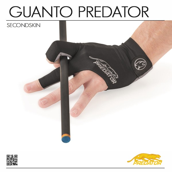 GUANTO PREDATOR SECOND SKIN GREY