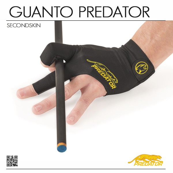 GUANTO PREDATOR SECOND SKIN YELLOW