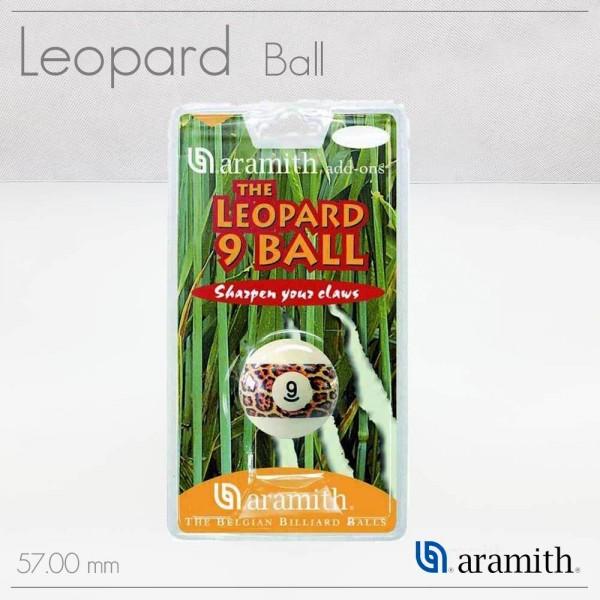 palla biliardo LEOPARD N 9 numerata