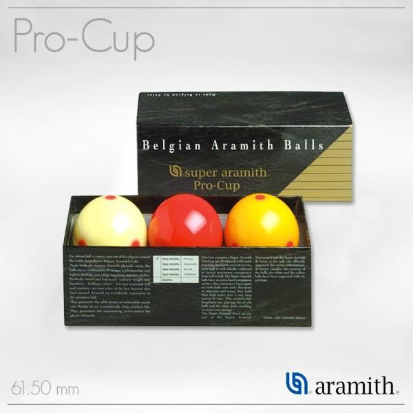 SET BILIE SET CARAMBOLA SUPER ARAMITH PRO-CUP 61,5