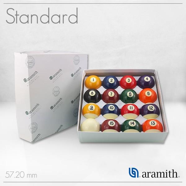SET BILIE ARAMITH STANDARD POOL 57,2 MM
