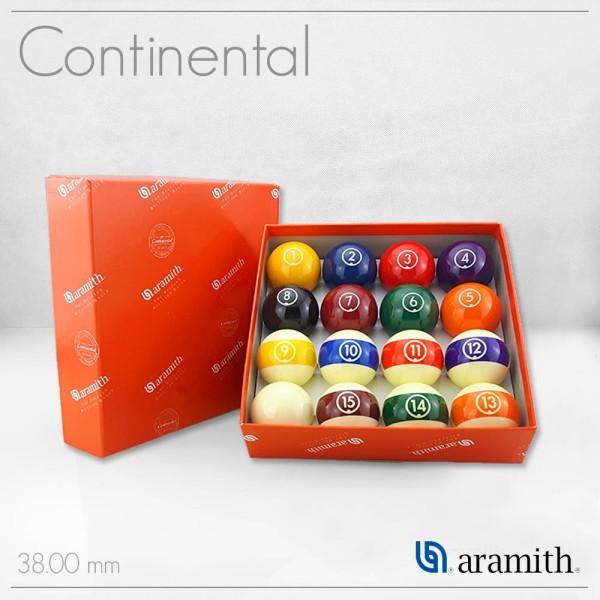 SET BILIE  ARAMITH CONTINENTAL 38 mm