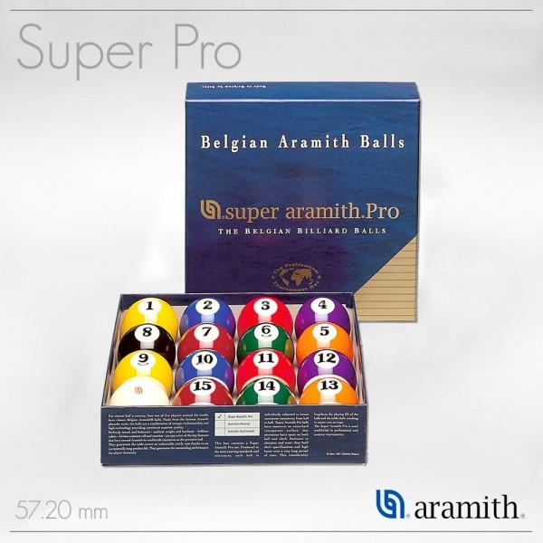 SET BILIE POOL PRO SUPER ARAMITH 57,2 MM
