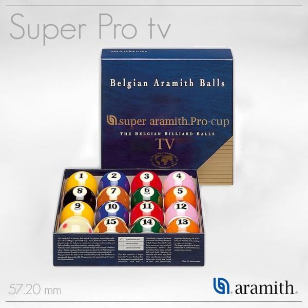 SET BILIE POOL PRO TV SUPER ARAMITH 57,2 MM
